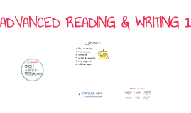ADVANCED READING & WRITING