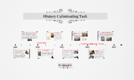 History Culminating Task