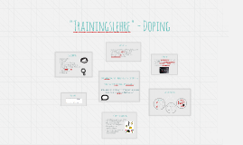 """Trainingslehre"" - Doping"