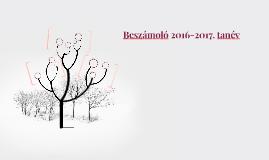 Beszámoló 2016/17. év vége