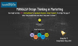 MANG6264 Design Thinking in Marketing (Group 19)