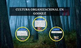 Copy of CULTURA ORGANIZACIONAL EN GOOGLE