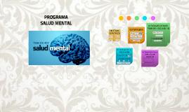 Copy of PROGRAMA DE SALUD MENTAL
