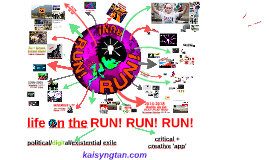 Fermynwoods Contemporary Art gig version of 'Life on the RUN! RUN! RUN!' 2015 August 4, Kettering, UK