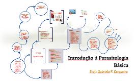 Introdução  à Parasitologia Básica
