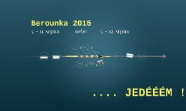 Berounka 2015
