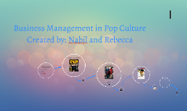 Management in Pop Culture