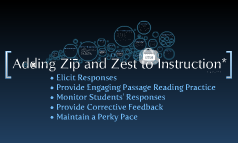 Copy of Adding Zip and Zest to Instruction