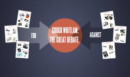 GOUGH WHITLAM