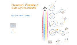 15/16 MG2554 Week 2 - Career Management & Professional Development Planning