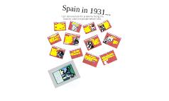 Unit 1 - 1 -Spain in 1931...