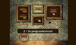 Z + Sz programtervezet