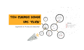 "TEN CUIDADO DONDE DAS ""CLICK"""