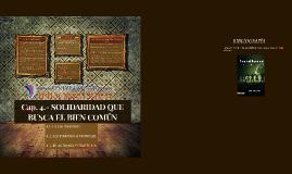 Copy of LA SOLIDADARIDAD QUE BUSCA EL BIEN COMUN