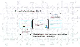 Presales Initiatives 2015