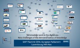 EAFT Summit 2016