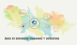 área de recursos humanos y bienestar