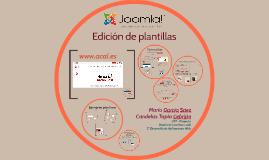 Creación de plantillas en Joomla