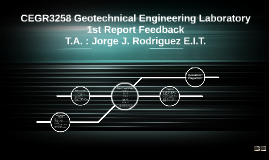 CEGR3258 Geotechnical Engineering Laboratory