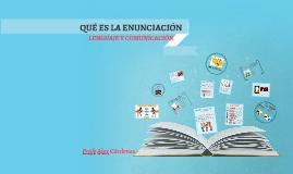 Copy of LA CONSTRUCCIÓN DE LA ENUNCIACIÓN