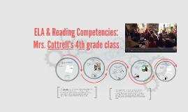 ELA & Reading Competencies: