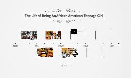 The Life of Being An African American Teenage Girl