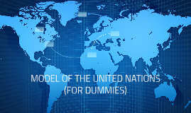 MODEL OF THE UNITED NATIONS