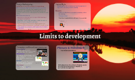 Limits to development