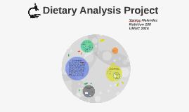 Dietary Analysis Project