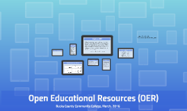 Open Educational Resources (OER), Con Ed Presentation