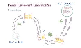 Individual Development (Leadership) Plan