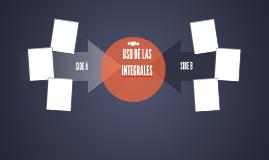 USO DE LAS INTEGRALES