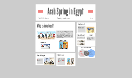 Copy of Arab Spring in Egypt