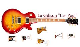 Gibson Les Paul para curso Prezi