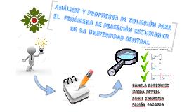 ANÁLISIS Y PROPUESTA DE SOLUCIÓN PARA EL  FENÓMENO DE DESERC