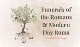 Funerals of the Romans & Modern Day Roma