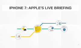 IPHONE 7: APPLE'S LIVE BRIEFING