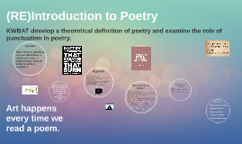 2015 Introduction to Poetry