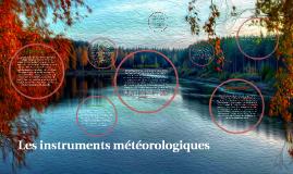 Les instruments meteorologiques