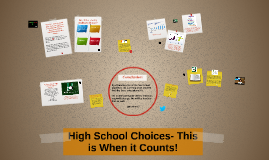 High School Choices- This is Where it Counts!