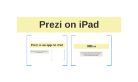 Prezi on iPad
