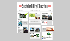 Copy of Sustainability Education
