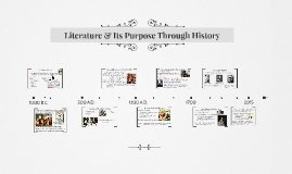 Literature and its purpose through history