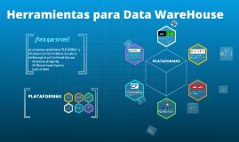 Herramientas para Data WareHouse modelos