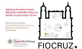 Applying Network Analysis Method to Aid Public Policy on Health: A Case Study in Brazil