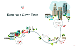Exeter as Clown Town
