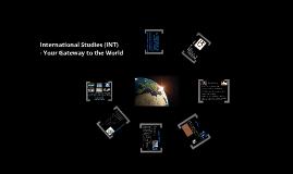 Introduction to International Studies @ Monash 2013