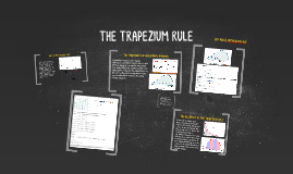 THE TRAPEZIUM RULE