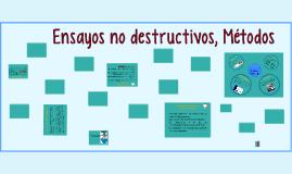Ensayos no destructivos, Métodos