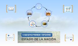 Informe Estado de la Nación 2015